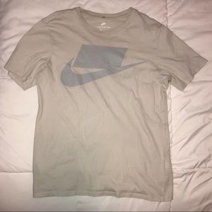 Light tan/grey nike shirt